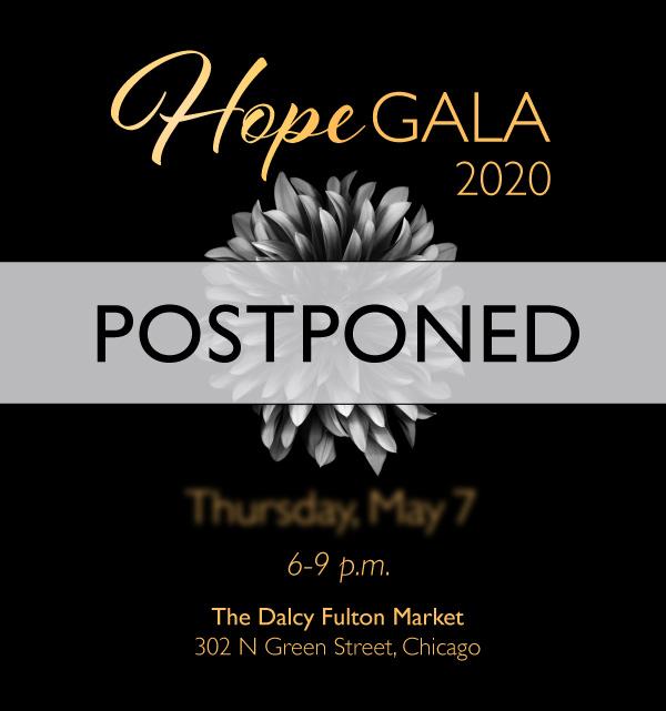 Hope Gala Postponed