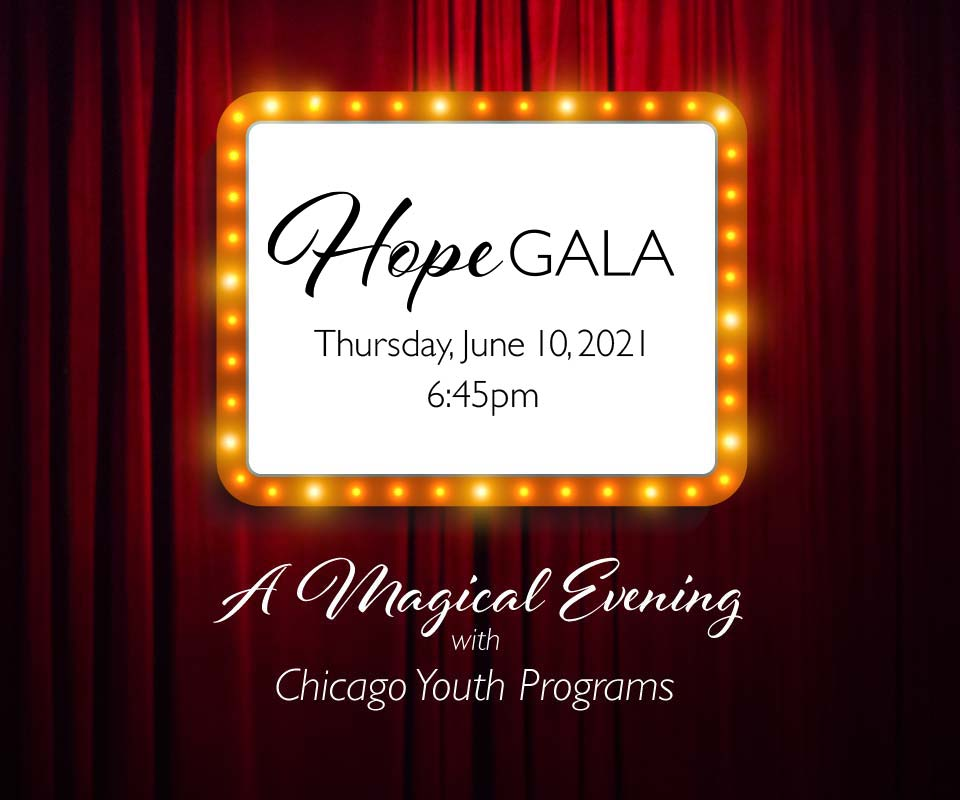 Hope Gala 2021, A Magical Evening with CYP
