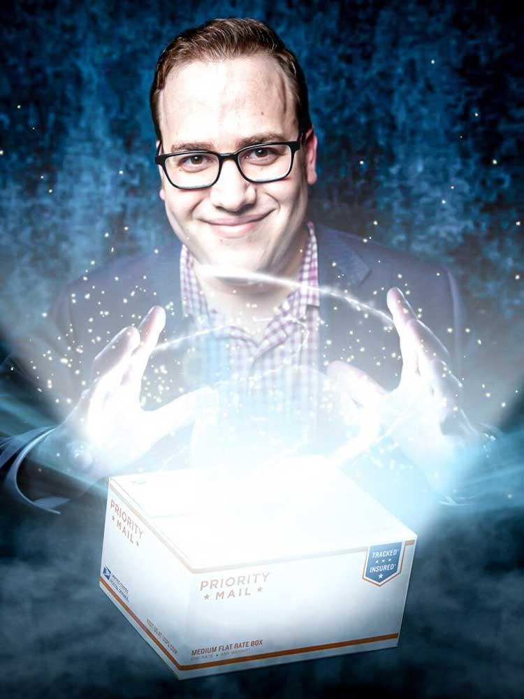 Magician Scott Green